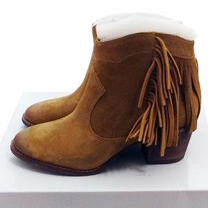 Marc Fisher Sade Fringe Ankle Boot